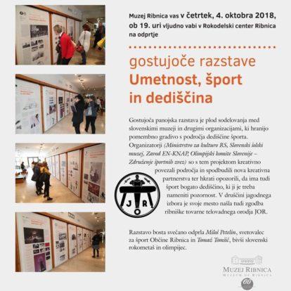 Odprtje gostujoče razstave Umetnost