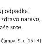 Zarja Čampa, 9.c